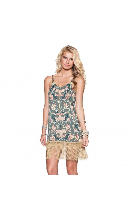 Hippie Fringe Short Dress maaji
