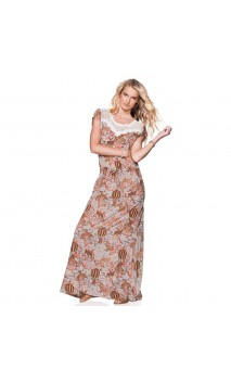 Maaji Wild Honey Suckle Maxi dress