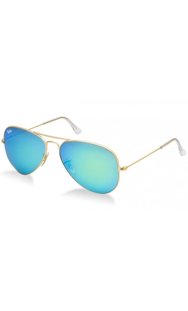 5bccbe9df72ac Gafas de sol Ray Ban Aviator 3025 color 112-19 lente color verde ...