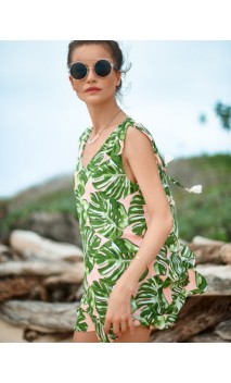 Vestido Monstera Delight